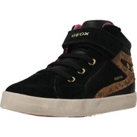 Chaussures Fille Baskets montantes Geox B KILWI GIRL Noir