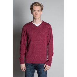Vêtements Homme Pulls Deeluxe Pull SINGLE Burgundy Mel