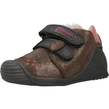 Chaussures Fille Baskets montantes Biomecanics 201114 Marron