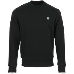 Vêtements Homme Sweats Fred Perry Crew Neck Sweatshirt noir