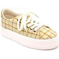 Chaussures Femme Baskets mode No Name plato m sneaker Beige