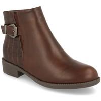 Chaussures Femme Bottines Prisska BB1071 Marron
