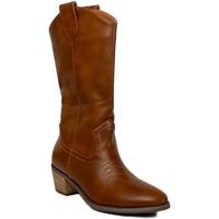 Chaussures Femme Bottes ville Prisska TY1036 Camel