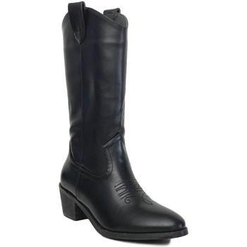 Chaussures Femme Bottes ville Prisska TY1036 Negro