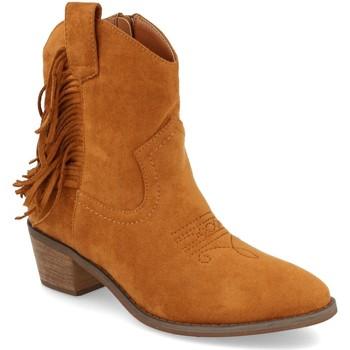 Chaussures Femme Bottines Prisska TY1038 Camel