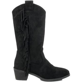 Chaussures Femme Bottes ville Prisska TY1039 Negro