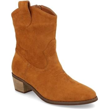 Chaussures Femme Bottines Prisska TY1060 Camel