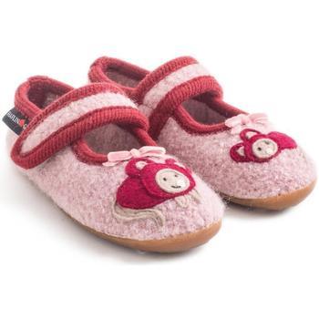 Chaussures Fille Chaussons bébés Haflinger 48311083 Rosa