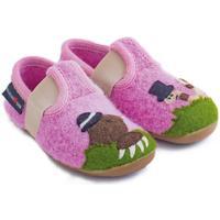 Chaussures Enfant Chaussons bébés Haflinger 48311129 Rosa