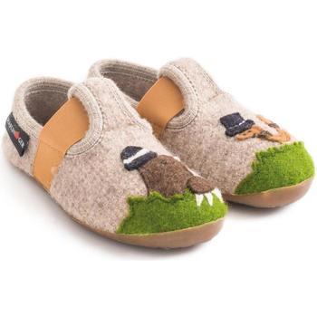 Chaussures Enfant Chaussons bébés Haflinger 48311187 Beige
