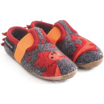 Chaussures Enfant Chaussons bébés Haflinger 48311304 Grigio