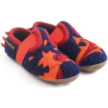 Chaussures Enfant Chaussons bébés Haflinger 48311370 Blu