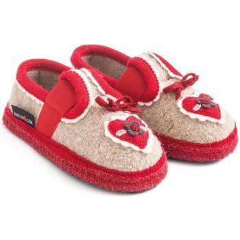Chaussures Enfant Chaussons bébés Haflinger 62306649 Beige