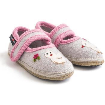 Chaussures Fille Chaussons bébés Haflinger 67306102 Grigio