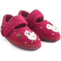 Chaussures Fille Chaussons bébés Haflinger 67306160 Rosso