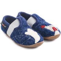 Chaussures Enfant Chaussons Haflinger 48311272 Blu