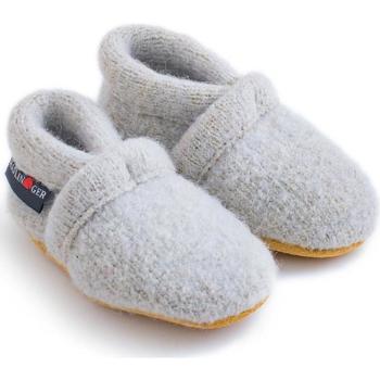 Chaussures Enfant Chaussons bébés Haflinger 65100502 Grigio