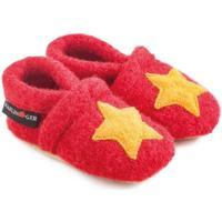 Chaussures Enfant Chaussons bébés Haflinger 65306311 Rosso