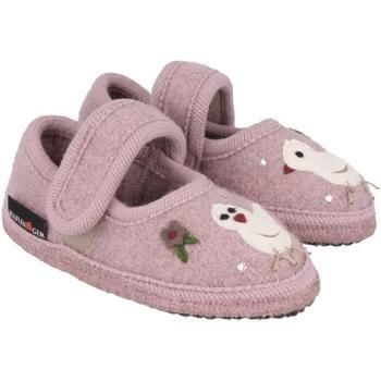 Chaussures Enfant Chaussons bébés Haflinger 67306183 Rosa