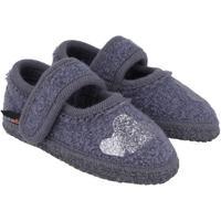 Chaussures Enfant Chaussons bébés Haflinger 67306359 Blu