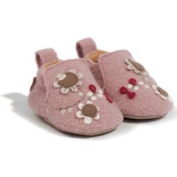 Chaussures Fille Chaussons bébés Haflinger 65307983 Rosa