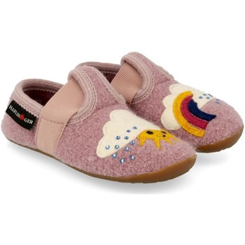 Chaussures Fille Chaussons Haflinger 48313583 Rosa