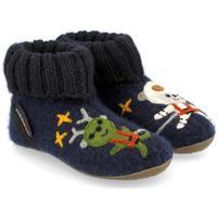 Chaussures Enfant Chaussons Haflinger 48313776 Blu