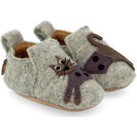 Chaussures Enfant Chaussons bébés Haflinger 65308484 Grigio