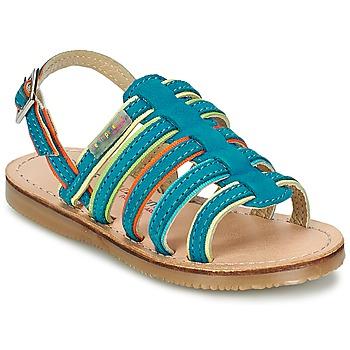 Chaussures Fille Sandales et Nu-pieds Les Tropéziennes par M Belarbi MISS Bleu