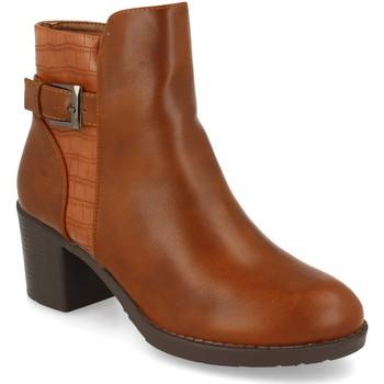 Chaussures Femme Bottines Prisska YC8350 Camel