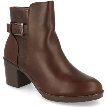 Chaussures Femme Bottines Prisska YC8350 Marron
