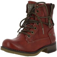 Chaussures Fille Boots Mustang 5026-619j rouge
