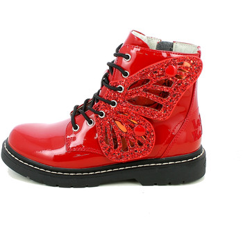 Chaussures Fille Bottines Lelli Kelly 6540.11_27 Rouge
