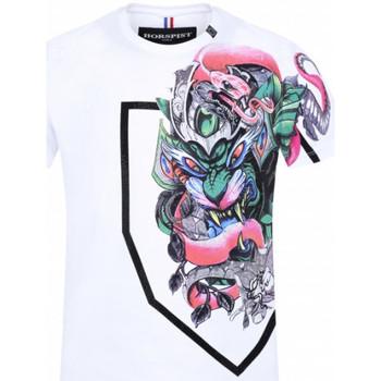 Vêtements Homme T-shirts & Polos Horspist Tee-shirt  Blanc