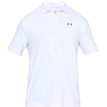 Vêtements Homme Polos manches courtes Under Armour Polo homme  UA Performance - U Blanc