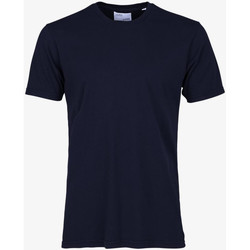 Vêtements Homme T-shirts manches courtes Colorful Standard CLASSIC ORGANIC TEE navy-blue-blu