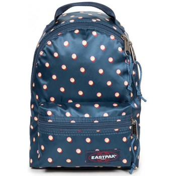 Sacs Sacs à dos Eastpak Mini sac à dos  EK71E Orbit B84 Bleu satiné motif pois bleu