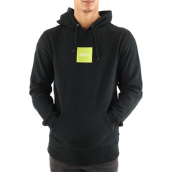 Vêtements Homme Sweats Huf Sweat ? capuche  BOX LOGO P/0 HOODIE Noir