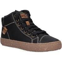 Chaussures Garçon Boots Geox J942CG 0CL10 J ALONISSO Negro