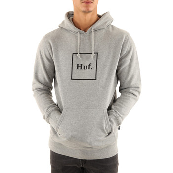 Vêtements Homme Sweats Huf Sweat ? capuche  Essentials Box Logo P/0 Hoodie Gris