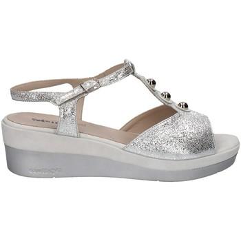 Chaussures Femme Sandales et Nu-pieds Melluso HR70725 ARGENT