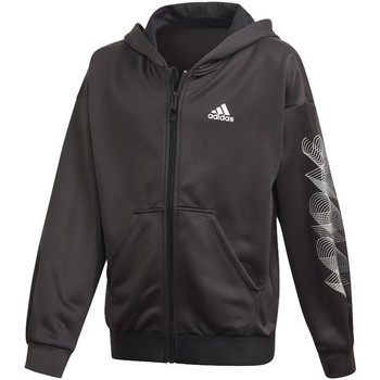Vêtements Garçon Sweats adidas Originals G UP2MV A.R. GIACCHETTO CON CAPPUCCIO NERO Noir