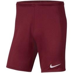 Vêtements Garçon Pantacourts Nike Dry Park Iii NB K Bordeaux