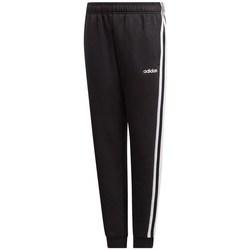 Vêtements Enfant Pantalons de survêtement adidas Originals JR Essentials 3S Noir