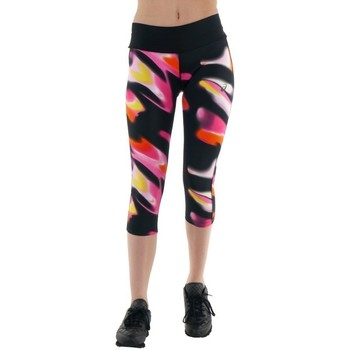 Vêtements Femme Pantalons Asics 34 Fuzex Knee Tight Noir, Rose