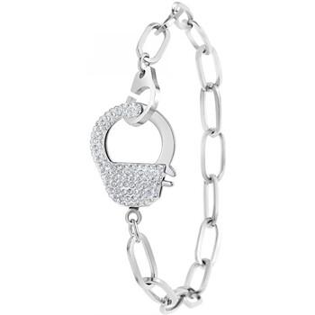 Montres & Bijoux Femme Bracelets Sc Crystal B2057-ARGENT Argenté