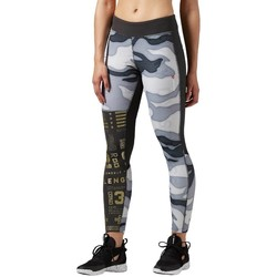 Vêtements Femme Pantalons Reebok Sport One Series Elite Blanc, Noir, Gris