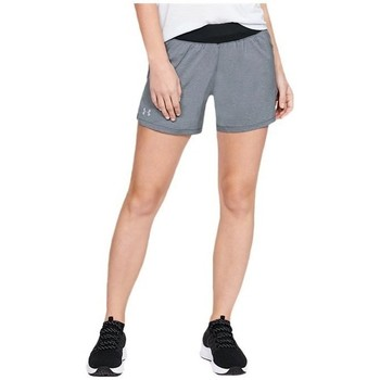 Vêtements Femme Pantacourts Under Armour Launch SW GO Long Short Gris
