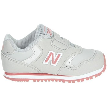 Chaussures Fille Baskets basses New Balance IV393CGP Gris/Rose