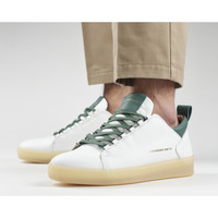 Chaussures Homme Baskets mode Alexander Smith OXFORD bianco-verde petrolio